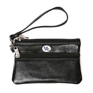 Kentucky Wildcats Leather Wristlet