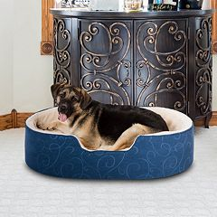Paus Orthopedic Jacquard Nest Pet Bed