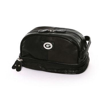 Georgia Bulldogs Deluxe Bottom-Zip Shave Kit