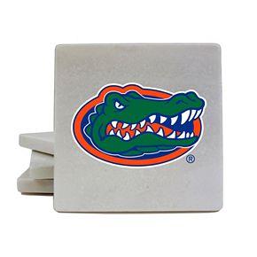 Florida Gators 4-Piece Marble Coaster Set