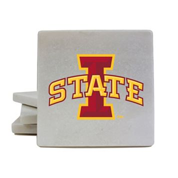 Iowa State Cyclones 4-Piece Marble Coaster Set