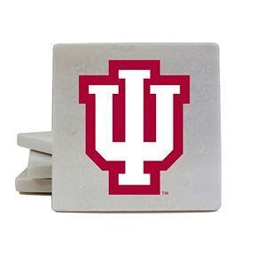 Indiana Hoosiers 4-Piece Marble Coaster Set