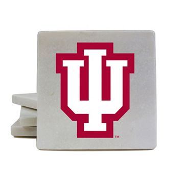 Indiana Hoosiers 4-Piece Marble Coaster Set