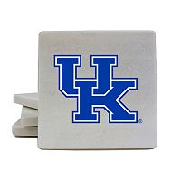 Kentucky Wildcats 4 pc Marble Coaster Set