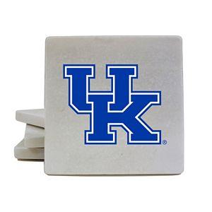 Kentucky Wildcats 4-Piece Marble Coaster Set