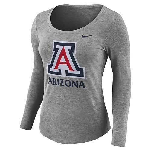 Women's Nike Arizona Wildcats Logo Tee