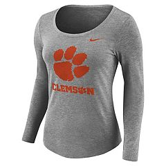Women's Nike Clemson Tigers Logo Graphic Tee