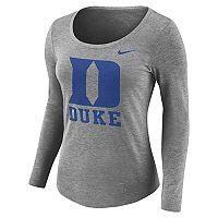 Women's Nike Duke Blue Devils Logo Tee