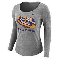 Women's Nike LSU Tigers Logo Tee