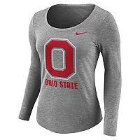 Women's Nike Ohio State Buckeyes Logo Tee