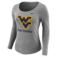Women's Nike West Virginia Mountaineers Logo Tee