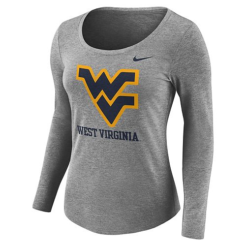 Women's Nike West Virginia Mountaineers Logo Tee