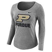 Women's Nike Purdue Boilermakers Logo Tee