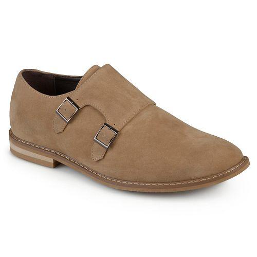 Vance Co. Isaac Men's Monk Strap Dress Shoes