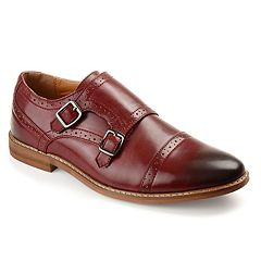 Vance Co. Wayne Men's Monk Strap Dress Shoes