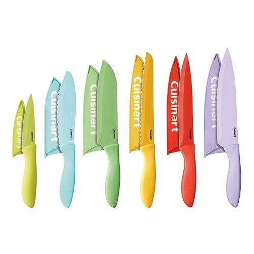 Cuisinart Advantage 12-pc. Ceramic-Coated Cutlery Set