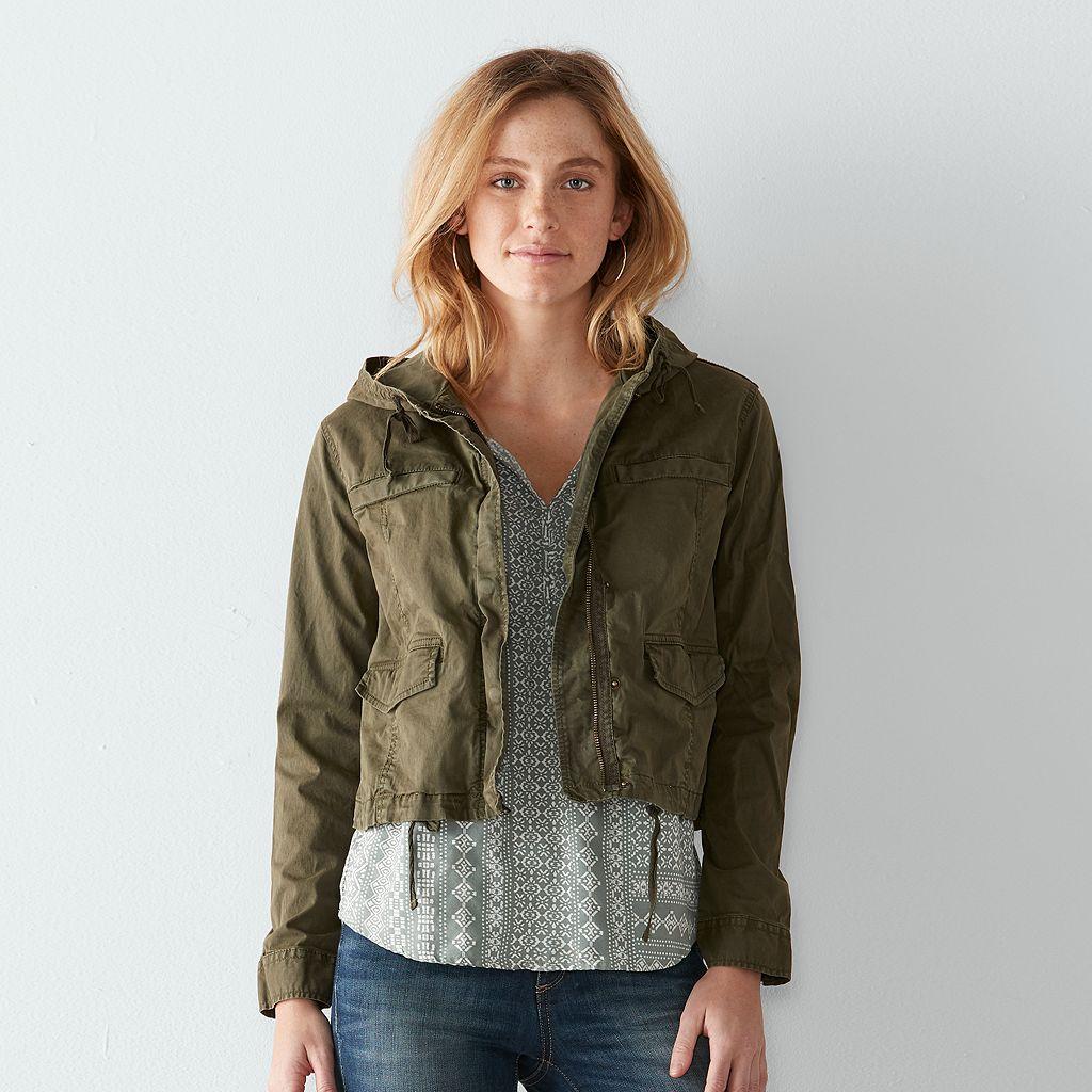Women's SONOMA Goods for Life™ Twill Utility Jacket