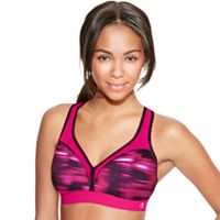 Women's Champion Bras: Curvy Print Medium-Impact Sports Bra B9373P