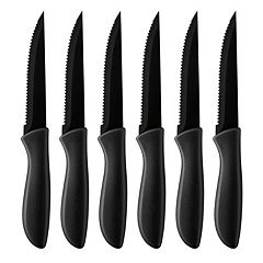 Cuisinart Advantage 6 pc Ceramic-Coated Steak Knife Set