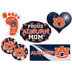Auburn Tigers Proud Mom 6 pc Decal Set