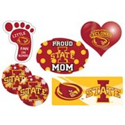 Iowa State Cyclones Proud Mom 6 pc Decal Set