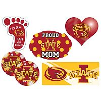 Iowa State Cyclones Proud Mom 6-Piece Decal Set