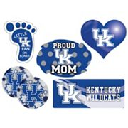 Kentucky Wildcats Proud Mom 6 pc Decal Set