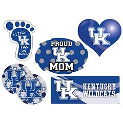 Kentucky Wildcats Proud Mom 6 pc Decal Set