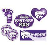 Kansas State Wildcats Proud Mom 6-Piece Decal Set