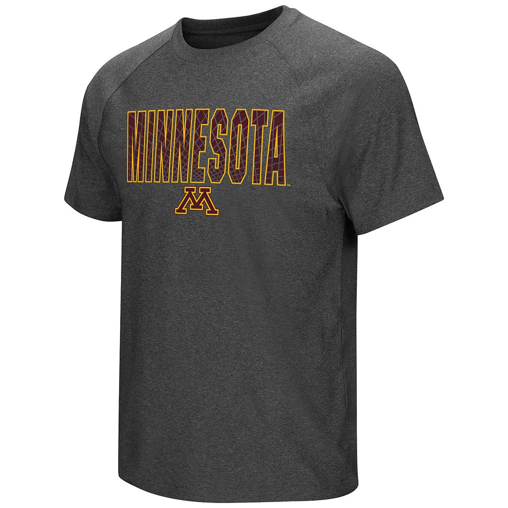 Men's Campus Heritage Minnesota Golden Gophers Castle Raglan Tee