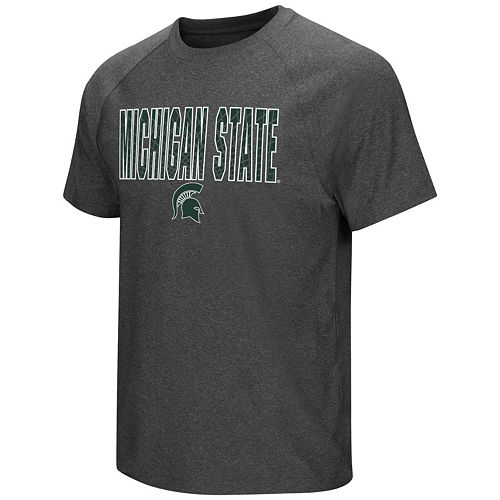Men's Campus Heritage Michigan State Spartans Castle Raglan Tee