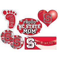 North Carolina State Wolfpack Proud Mom 6 pc Decal Set