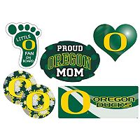 Oregon Ducks Proud Mom 6 pc Decal Set