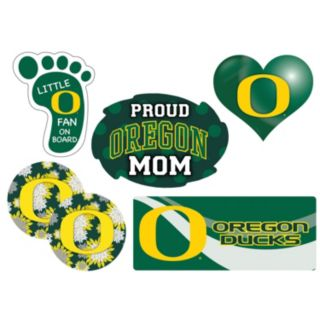 Oregon Ducks Proud Mom 6-Piece Decal Set