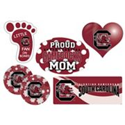 South Carolina Gamecocks Proud Mom 6 pc Decal Set
