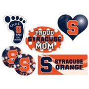 Syracuse Orange Proud Mom 6 pc Decal Set