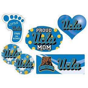 UCLA Bruins Proud Mom 6-Piece Decal Set