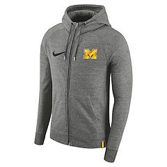 Men's Nike Michigan Wolverines Full-Zip Hoodie
