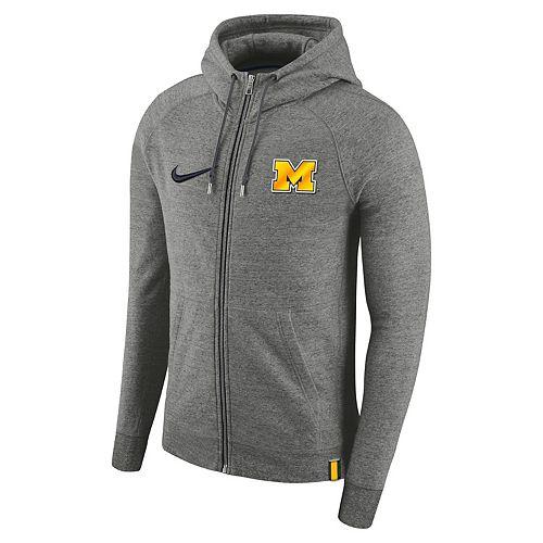 Men's Nike Michigan Wolverines Full-Zip Hoodie