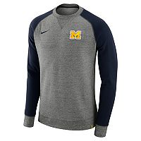 Men's Nike Michigan Wolverines Crew Sweatshirt