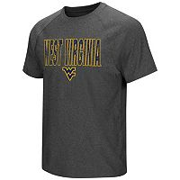 Men's Campus Heritage West Virginia Mountaineers Castle Raglan Tee