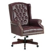Office Star Products Deluxe High Back Traditional Executive Chair