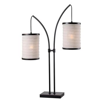 Kenroy Home Lanterna 2-Light Table Lamp