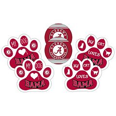 Alabama Crimson Tide Pet 6-Piece Magnet Set