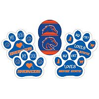 Boise State Broncos Pet 6 pc Magnet Set