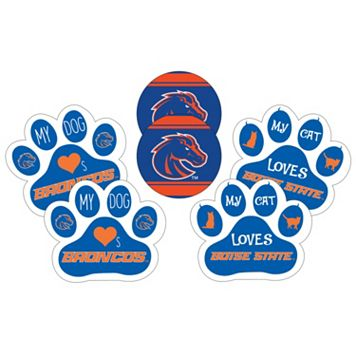 Boise State Broncos Pet 6-Piece Magnet Set