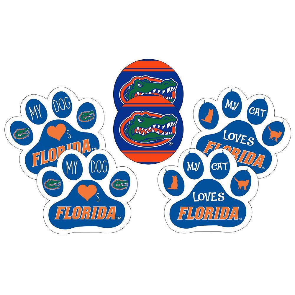 Florida Gators Pet 6-Piece Magnet Set