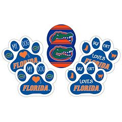 Florida Gators Pet 6 pc Magnet Set