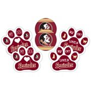 Florida State Seminoles Pet 6 pc Magnet Set