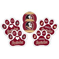 Florida State Seminoles Pet 6-Piece Magnet Set